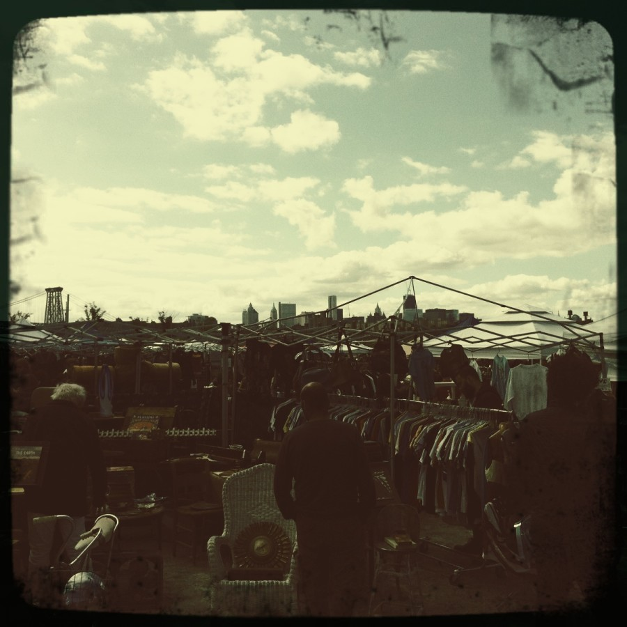 Williamsburg Flea market, Brooklyn NY