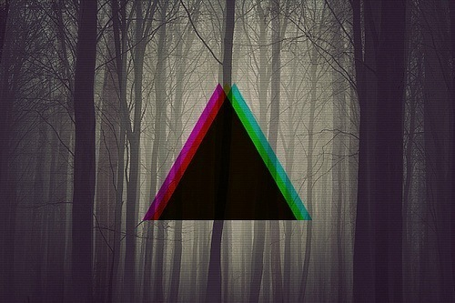 Triangle in the Wood
