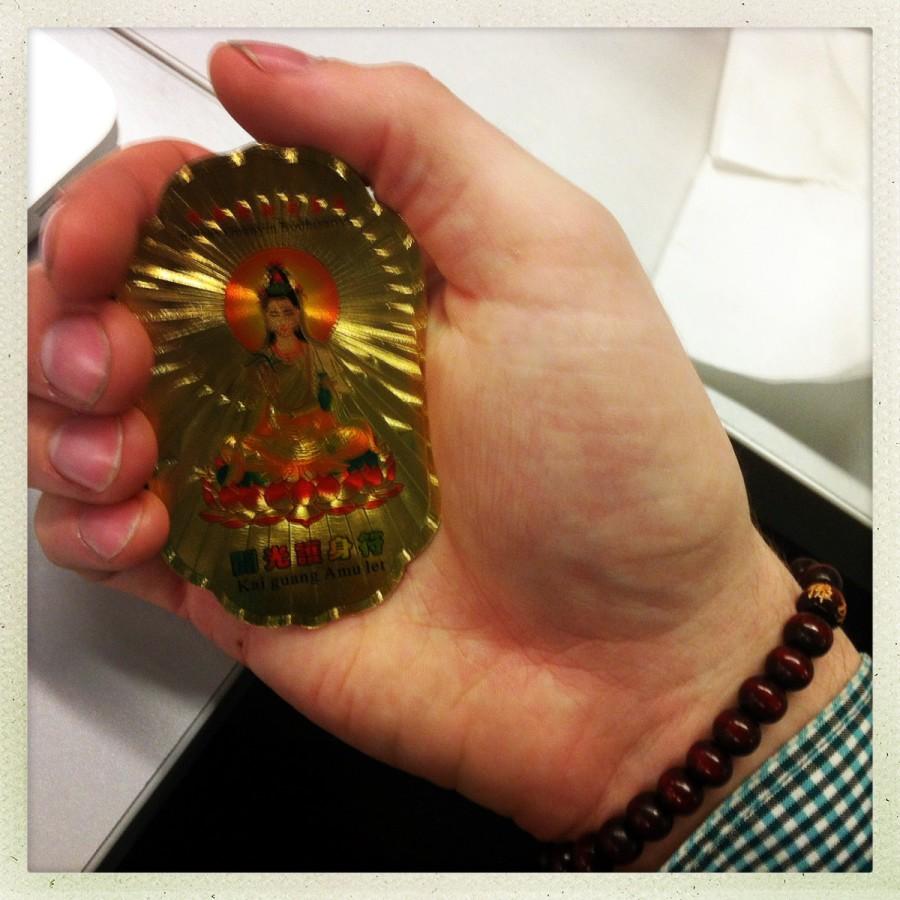Kai Guang Amulet – Namas Guanyin Bodhisattva