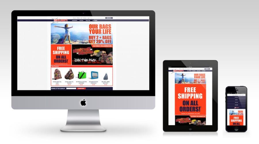 Eastsport Website Simple Responsive Design