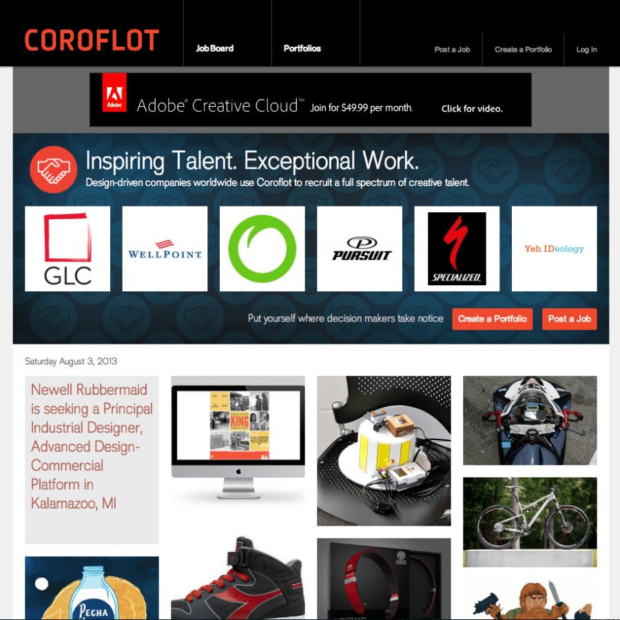 Coroflot.com Featured Project