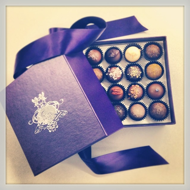 @Vosges chocolate from Heather Marie, @72LuxCEO , so tasty!