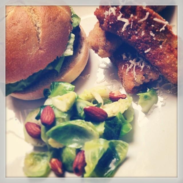 "Pasture Raised Beef Burger with Gourmet ""Fries"""