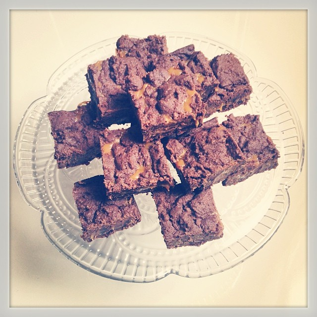 Terry Wilson's Famous Caramel Fudge brownies