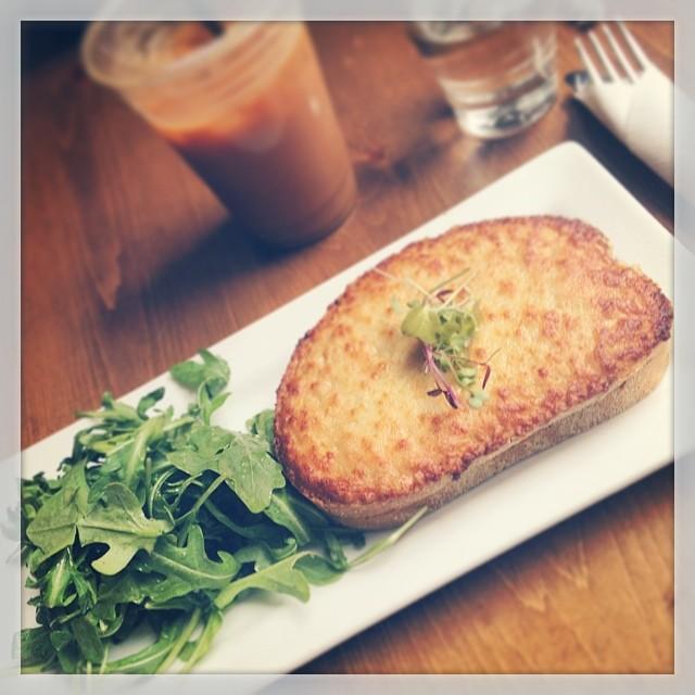 Brunch – Vegetarian Croquet Monsieur