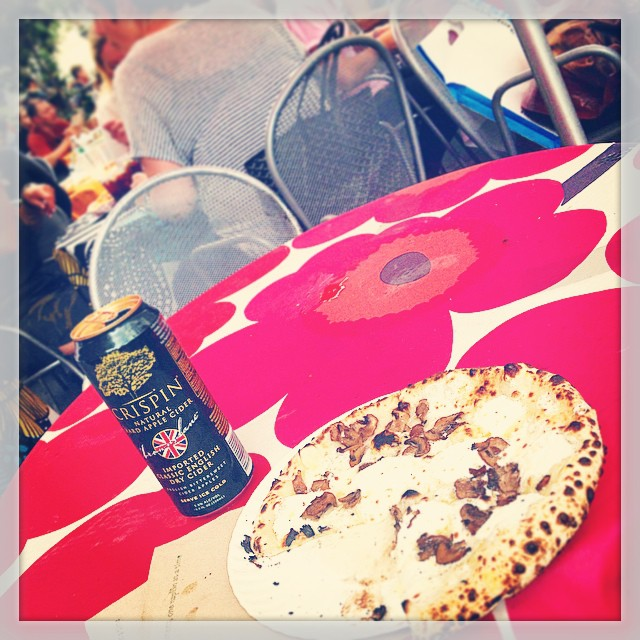 Roberta's Pizza and Crispin Cider