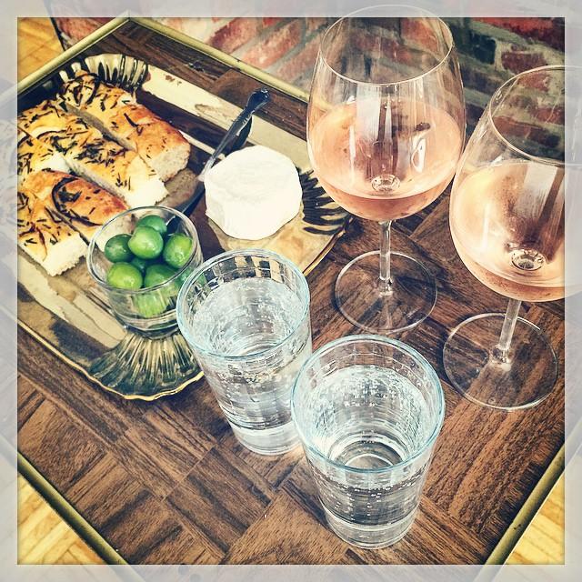 Malba-toast & wine