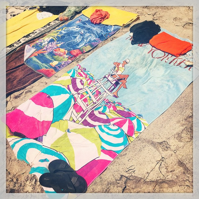 Beach Blankets on the Last Day