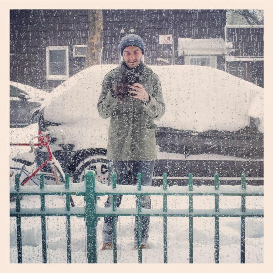 greenpointglass selfie snow