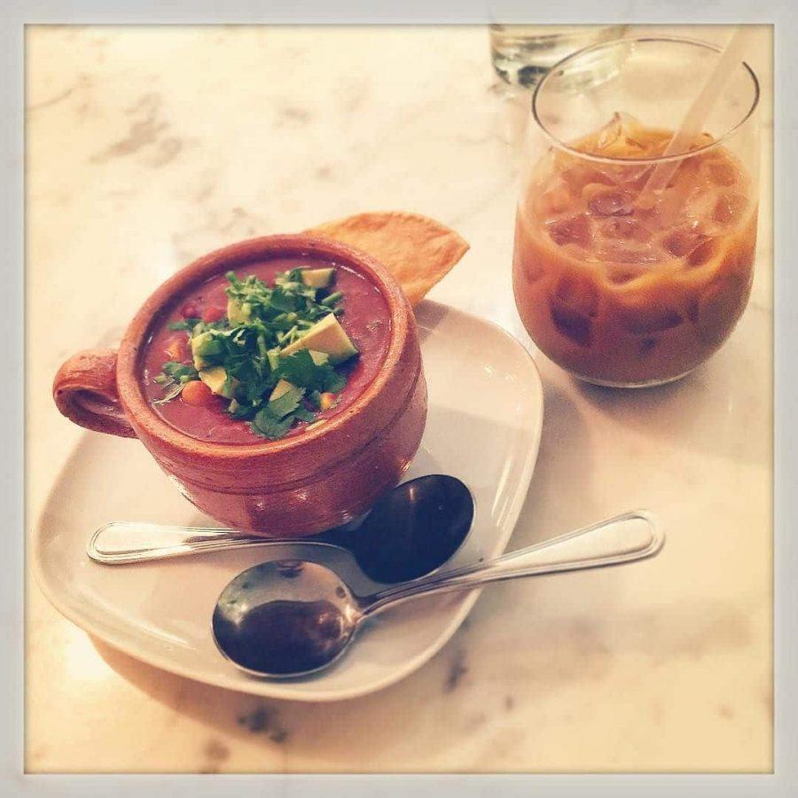 Vegan Chili Sunday with @devonmrose