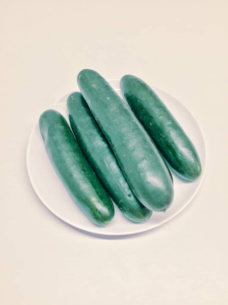 spa water ingredient cucumber