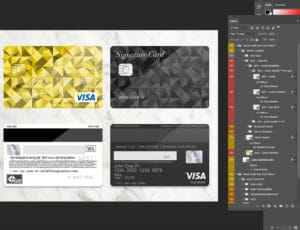 Bank Card Template Plus Layers