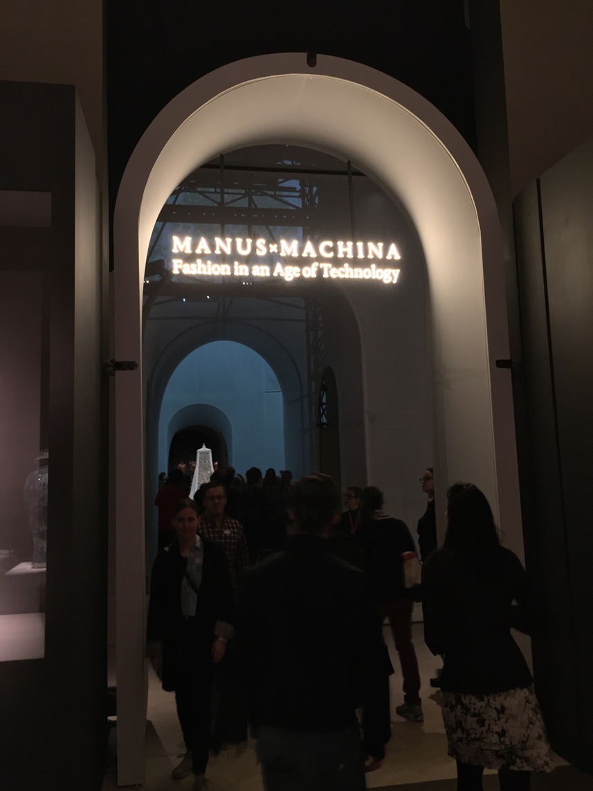 manus x machina entrance 1