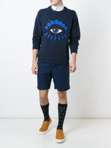 farfetch kenzo eye swearshirt
