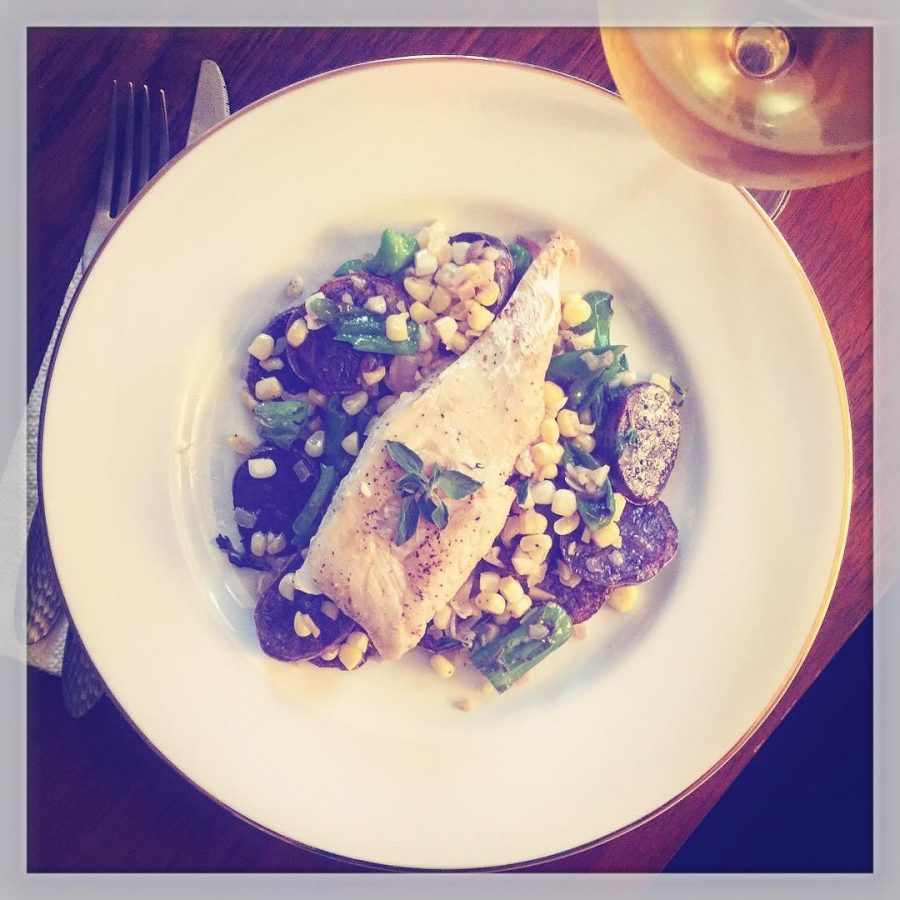 Brown Butter Cod from Blue Apron
