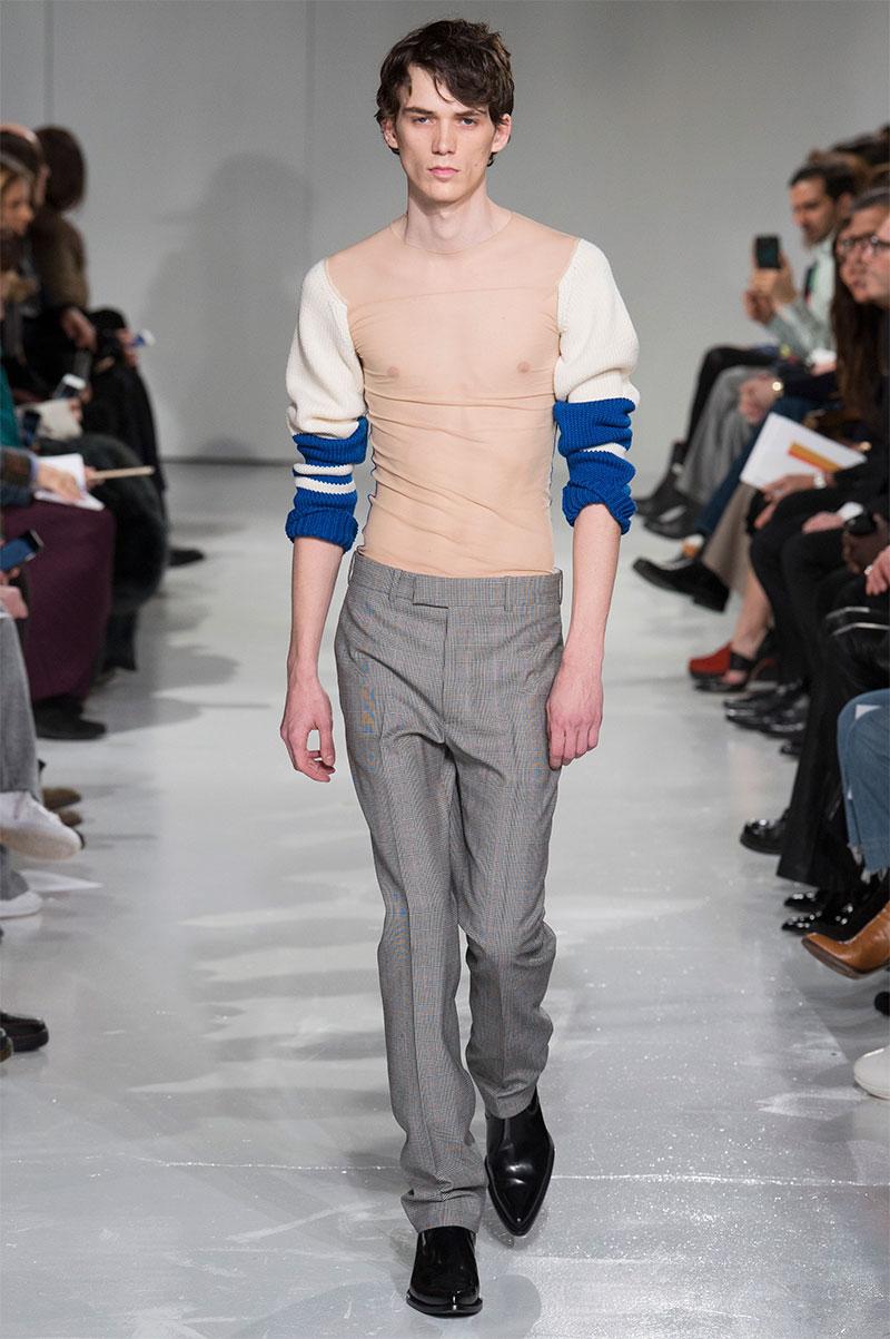 541cb0babb Calvin Klein Collection F W 2017