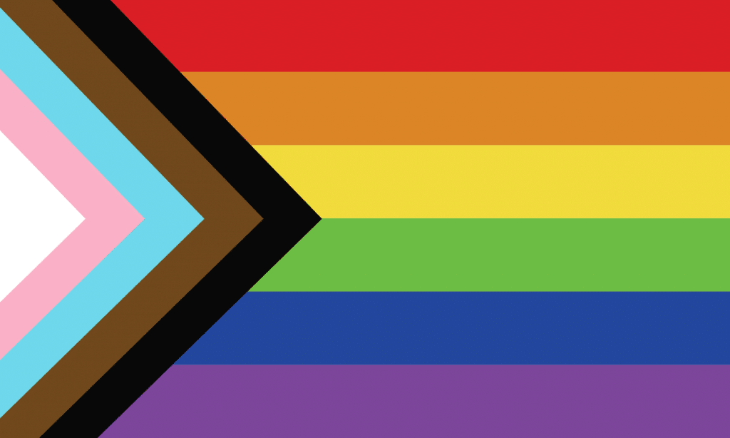 Progressive Pride Flag 2021